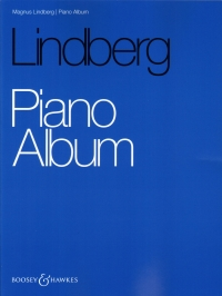 Lindberg Piano Album Sheet Music