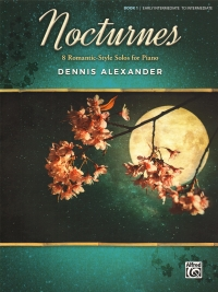 Nocturnes Alexander Book 1 Piano Early Intermediat Sheet Music