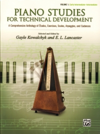 Piano Studies For Technical Development Vol 1 Sheet Music