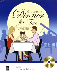 Cornick Dinner For Two Piano Duet + Cd Sheet Music