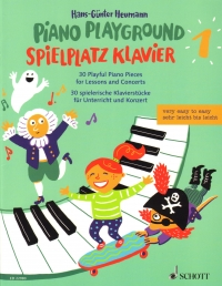 Piano Playground 1 Heumann 30 Playful Pieces Sheet Music