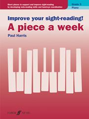 Improve Your Sight-reading! A Piece A Week Pf Gr 5 Sheet Music