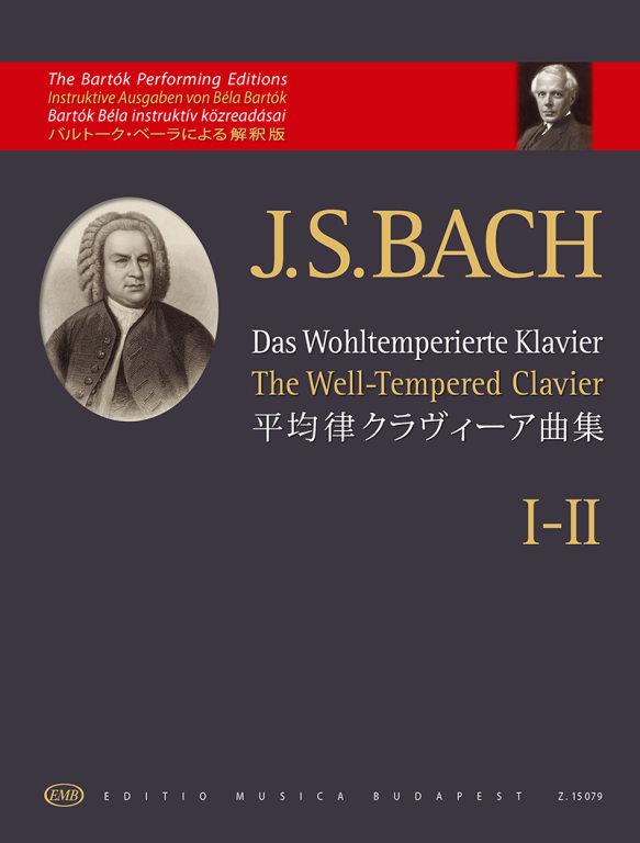 Bach Well-tempered Clavier I-ii Piano Solo Bartok Sheet Music