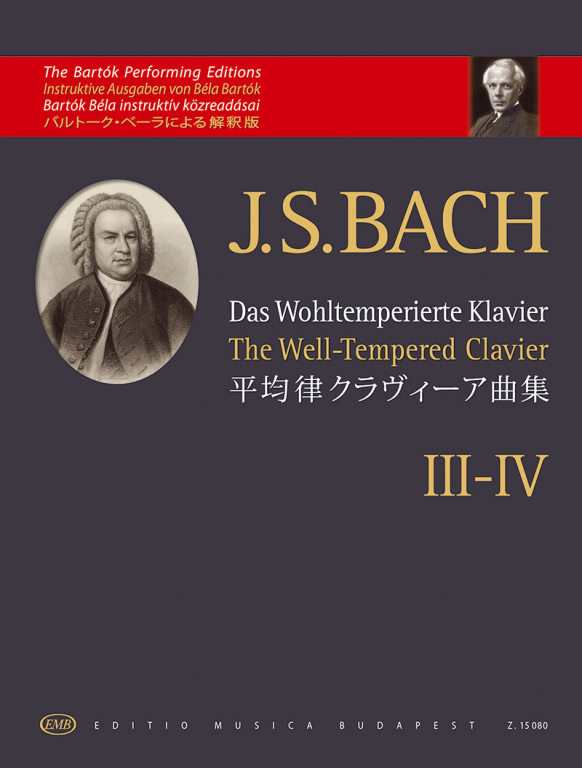 Bach Well-tempered Clavier Iii-iv Piano Bartok Sheet Music