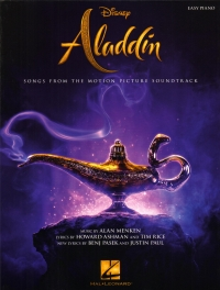 Aladdin Songs From The Motion Picture Easy Piano Sheet Music