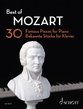 Mozart Best Of 30 Famous Pieces For Piano Sheet Music