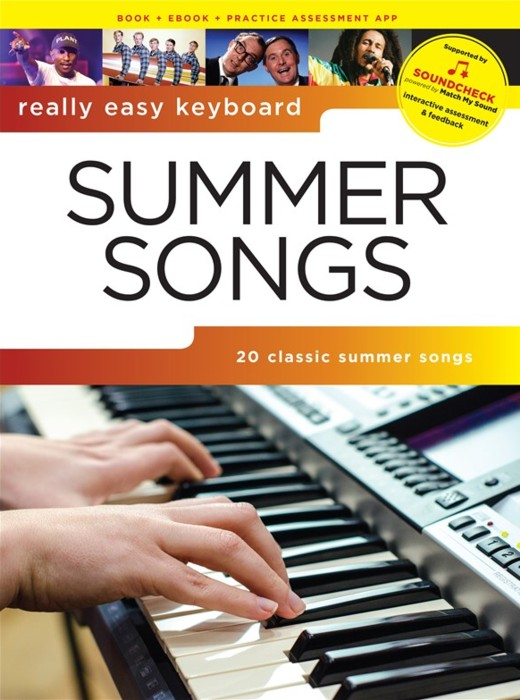Really Easy Keyboard Summer Songs Sheet Music