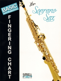 Basic Instrumental Fingering Chart Soprano Sax Sheet Music