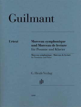 Guilmant Morceau Symphonique Op88 Trombone & Pf Sheet Music