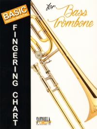 Basic Instrumental Fingering Chart Bass Trombone Sheet Music