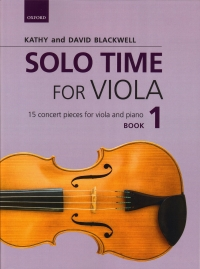 Solo Time For Viola Blackwell Book 1 Sheet Music