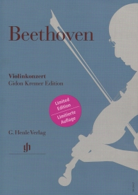 Beethoven Violin Concerto D Op61 Kremer Edition Sheet Music