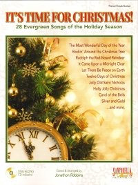 Its Time For Christmas Robbins Pvg + Cd Sheet Music