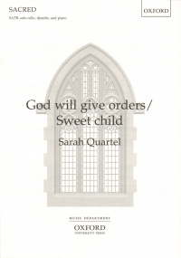 God Will Give Orders Sweet Child Quartel Satb & Pf Sheet Music