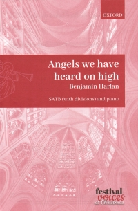 Angels We Have Heard On High Harlan Satb & Piano Sheet Music