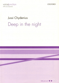 Deep In The Night Chydenius Satb Sheet Music