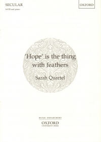Hope Is The Thing With Feathers Quartel Satb & Pia Sheet Music