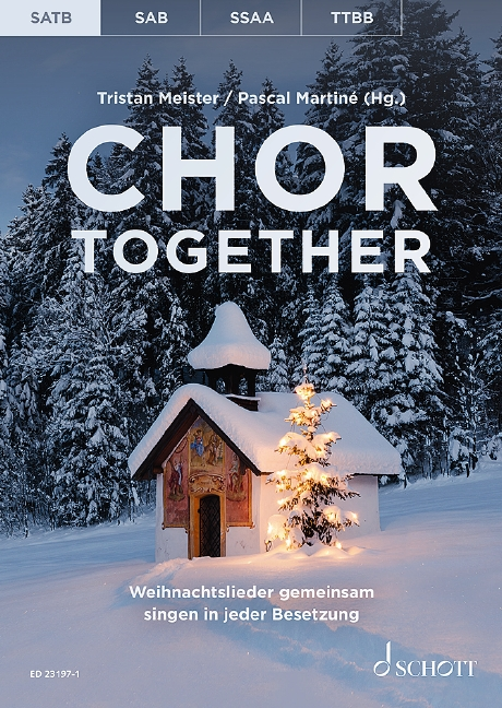 Chor Together Martine & Meister Satb Sheet Music