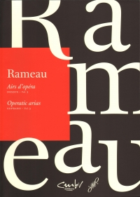 Rameau Operatic Arias Soprano Vol 3 Sheet Music