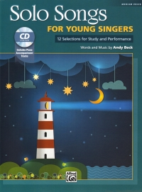 Solo Songs For Young Singers Beck + Cd Sheet Music