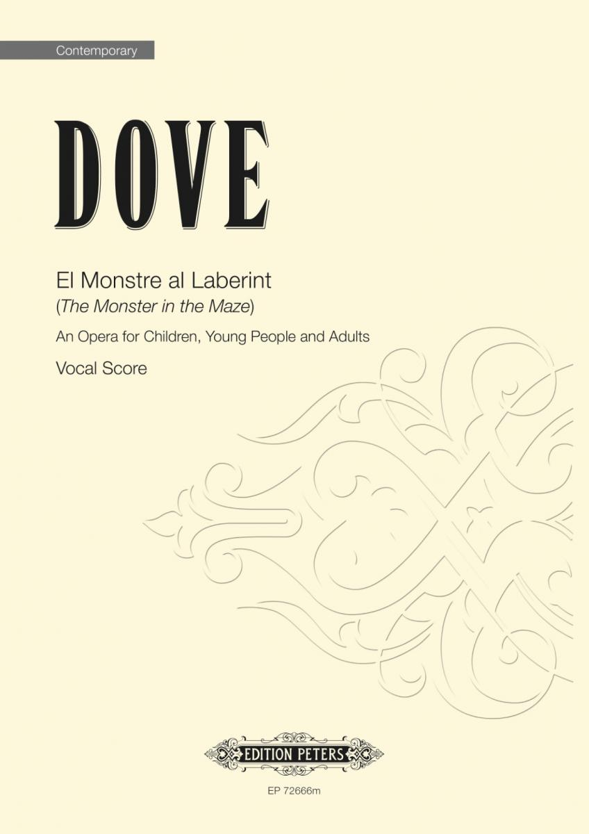 Dove El Monstre Al Laberint Vocal Score Sheet Music