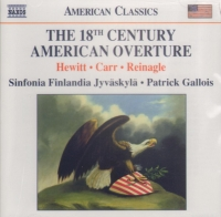 18TH CENTURY AMERICAN OVERTURE MUSIC CD