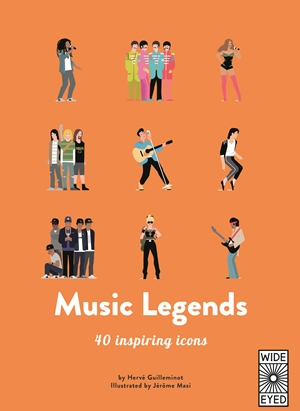 40 Inspiring Icons Music Legends Guilleminot/masi Sheet Music