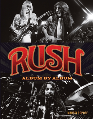 Rush Album By Album Popoff Hardback Sheet Music