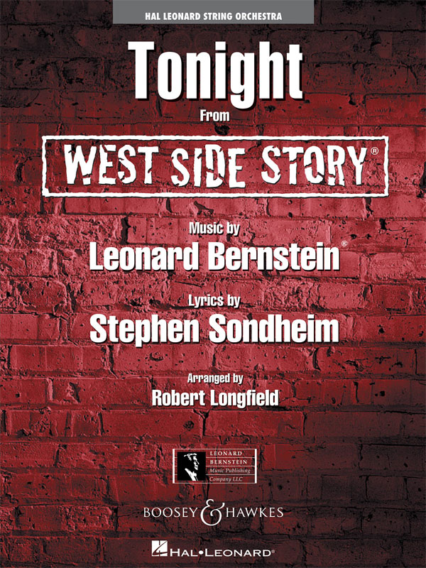 Bernstein Tonight West Side Story Str Orch Sc/pts Sheet Music