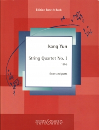 Yun String Quartet No 1 Score & Parts Sheet Music