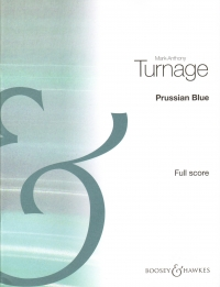 Turnage Prussian Blue Quintet Score Sheet Music