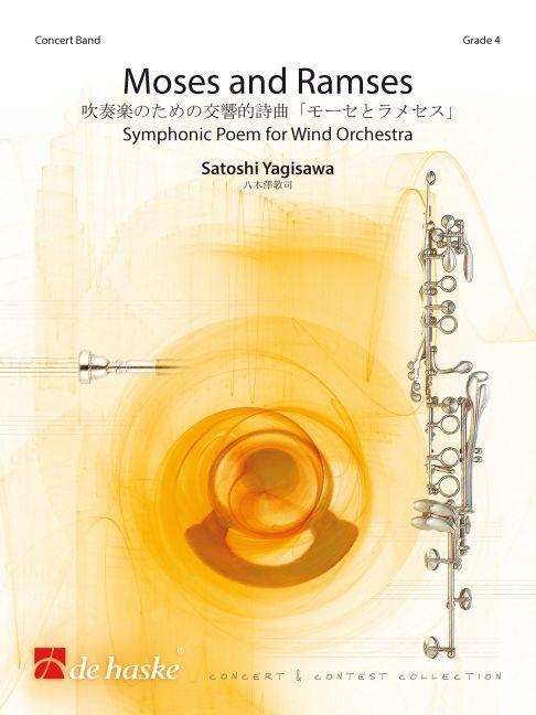 Yagisawa Moses And Ramses Concert Band Sc/pts Sheet Music