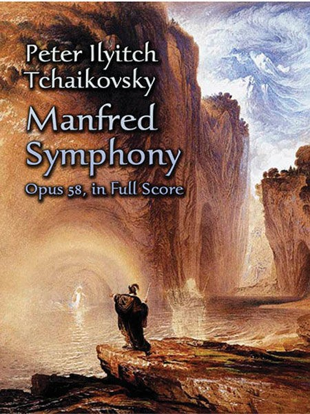 Tchaikovsky Manfred Symphony Op58 Full Score Sheet Music