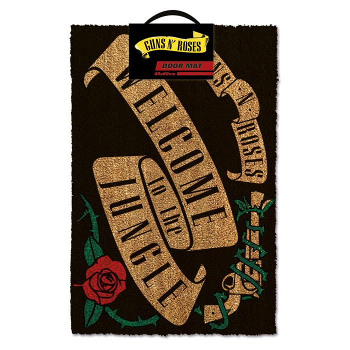 Guns N Roses Doormat Welcome To The Jungle (may) Sheet Music