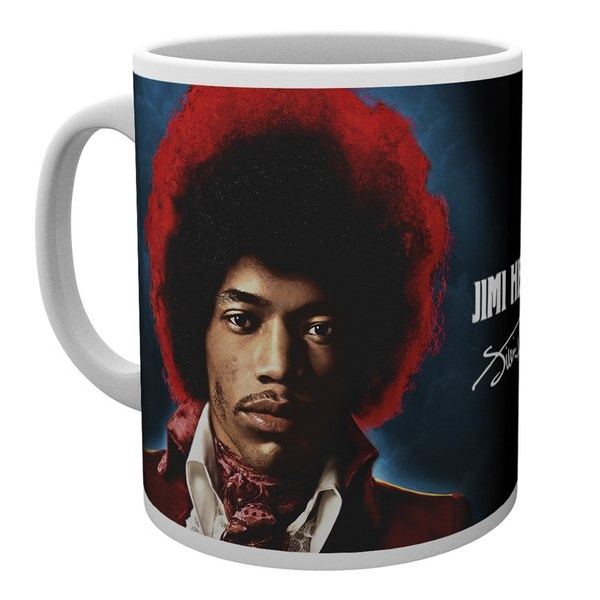 Jimi Hendrix Boxed Mug Both Sides Of The Sky Sheet Music