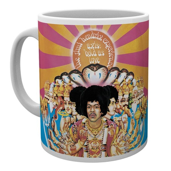 Jimi Hendrix Boxed Mug Axis Bold As Love Sheet Music