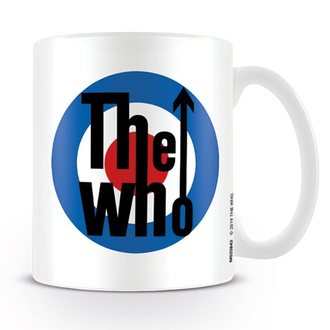 Who Boxed Mug Target Logo 11oz Sheet Music